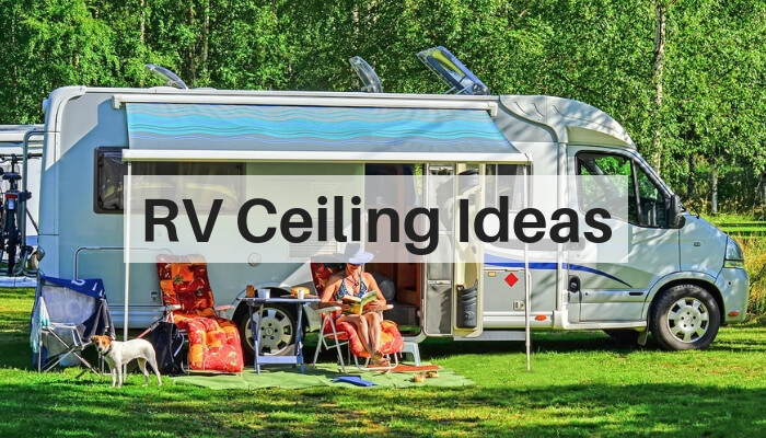 Best Material for RV Ceiling Feature Image