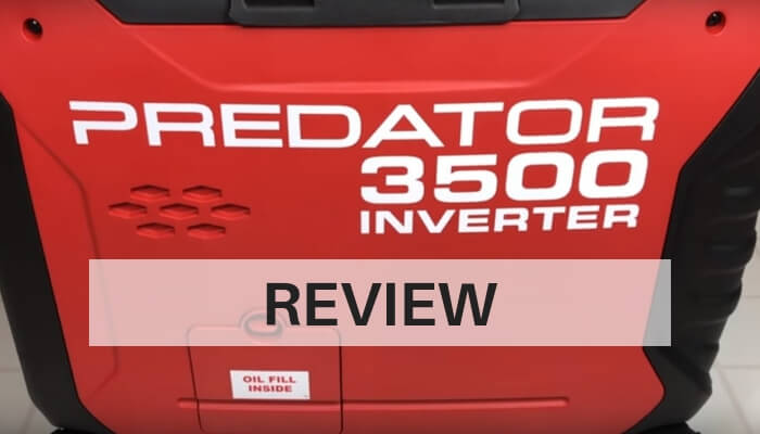 Predator 3500 Inverter Generator Review-Feature Image