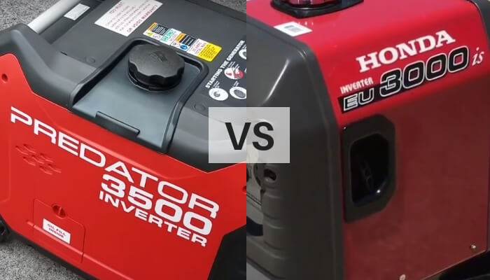 Predator 3500 Vs Honda 3000: Which Generator Is Perfect ...